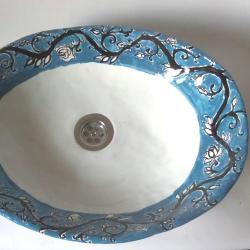 umywalka ceramiczna,umywalka - Ceramika i szkło - Wyposażenie wnętrz