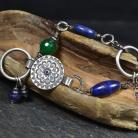 Bransoletki letnia bransoleta,z kamieniami,niebiesko-zielona