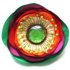 Broszki broszka,satyna,pręciki,elegancka,kolorowa