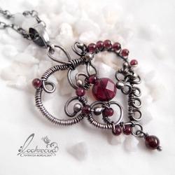 srebrny wisior,srebrny naszyjnik,serce - Naszyjniki - Biżuteria
