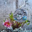 Wisiory srebro,anioł,stróż,osobisty,ksenia,ksenia.art