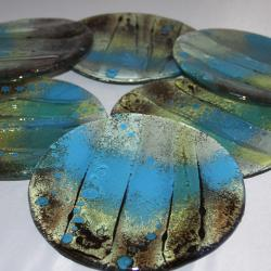 szklane taerzyki na ciasto design deserowe prezent - Ceramika i szkło - Wyposażenie wnętrz