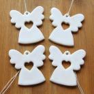 Ceramika i szkło anioł,aniołek,zawieszka,ozdoba,retro