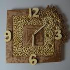 Ceramika i szkło zegar,zegar wiszący,zegar ścienny,ceramika,art