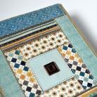 Notesy kalendarz książkowy 2014,patchwork