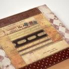 Notesy kalendarz książkowy 2015,patchwork