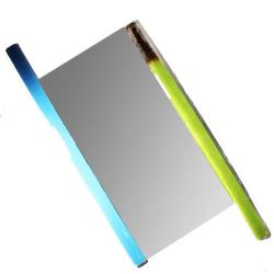 szklane designerskie lustro szklana rama design - Lusterka - Wyposażenie wnętrz