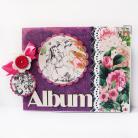 Albumy scrapbooking,album,prezent,dzieci
