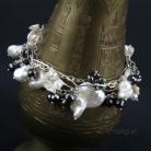 Bransoletki zestaw bransolet,biżuteria wielofunkcyjna,perły