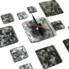 Zegary designerski zegar szklany pomysł na prezent loft