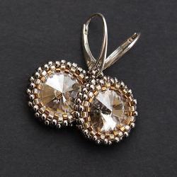 eleganckie,kobiece,lśniące,wieczorowe - Kolczyki - Biżuteria