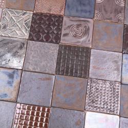 kafle robione ręcznie,kafelki z gliny - Ceramika i szkło - Wyposażenie wnętrz