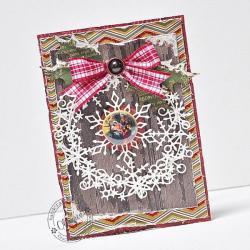 Boże Narodzenie,Święta,stajenka,śnieżynka - Kartki okolicznościowe - Akcesoria