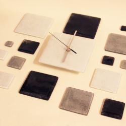 designerski zegar pomysł na prezent na ścianę szkł - Zegary - Wyposażenie wnętrz