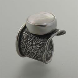 pierścionek z perłą - Pierścionki - Biżuteria