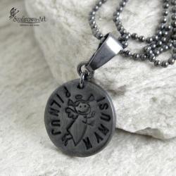 naszyjnik,anioł dla mamy,prezent - Naszyjniki - Biżuteria