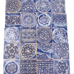 kafle koronkowe,nietypowe kafle - Ceramika i szkło - Wyposażenie wnętrz