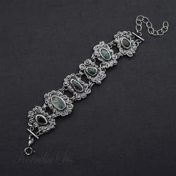 bransoletka,z szafiramy,misterna,baśniowa - Bransoletki - Biżuteria
