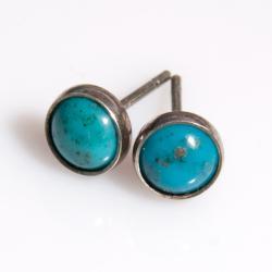 drobinki,sztyfty,kolczyki,małe,okrągłe,minimali - Wisiory - Biżuteria