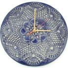 Ceramika i szkło zegar ceramiczny,zegar koronka