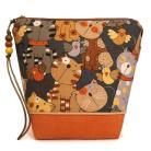 Kosmetyczki koty,na kosmetyki,prezent,do torebki,etui