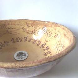umywalka,umywalka ceramiczna, - Ceramika i szkło - Wyposażenie wnętrz
