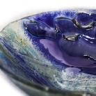 Ceramika i szkło misa ryby szkło stapiane