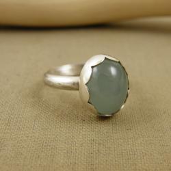pierścionek,chalcedon - Pierścionki - Biżuteria