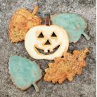 Ceramika i szkło liście,dynia,halloween,las,jesień