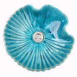 umywalka muszla,nietypowa umywalka z gliny - Ceramika i szkło - Wyposażenie wnętrz