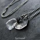 Naszyjniki z kryształem górskim