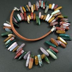jesienny,niebanalny - Naszyjniki - Biżuteria