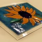 Ceramika i szkło Ręcznie wykonany szklany panel dekoracyjny