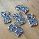 Magnesy na lodówkę kot,koty,zwierzęta,magnesy,ceramika