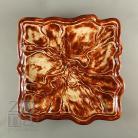 Ceramika i szkło talerz,ceramika,brązowy