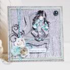 Kartki okolicznościowe urodziny,imieniny,ręcznie kolorowane