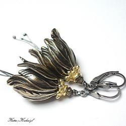 romantyczne,kwiaty,dzwonki - Kolczyki - Biżuteria