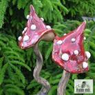 Ceramika i szkło las,ogród,natura,grzyb