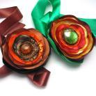 Naszyjniki naszyjnik,kwiaty,wstążki,romantyczne