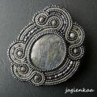 Broszki elegancki,unikalny,haft koralikowy