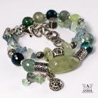 Bransoletki bransoleta damska,kamienie,srebrna biżuteria
