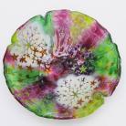 Ceramika i szkło misa,patera,fusing,szkło,dekoracja,na owoce
