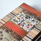 Notesy organizer,kalendarz,notes,patchwork,kot,pies