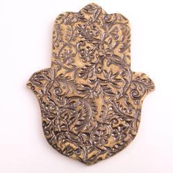 hamsa,dłoń fatimy,ceramiczna hamsa - Ceramika i szkło - Wyposażenie wnętrz
