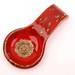 łycha,łyżka z gliny,ceramiczna łyżka - Ceramika i szkło - Wyposażenie wnętrz