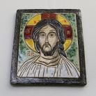 Ceramika i szkło Beata Kmieć,ikona,obraz,Pantokrator