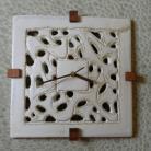 Ceramika i szkło zegar wiszący,dekoracja,prezent,zegar
