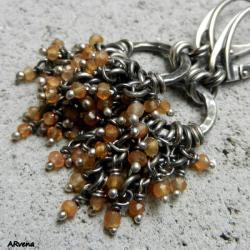 delikatne,kobiece,srebrne,nowoczesne - Kolczyki - Biżuteria