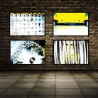 Ilustracje, rysunki, fotografia fotografia,zdjęcie,wystrój,dom,żółty,wnętrze