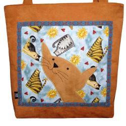 torba autorska,kot,prezent,nastolatka,kolorowa - Na ramię - Torebki